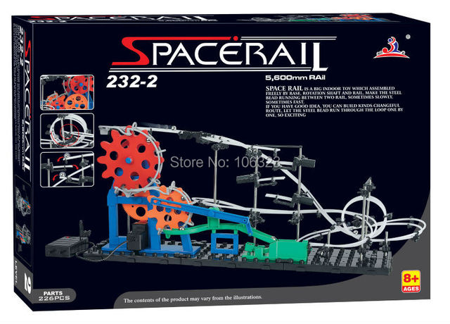 Wholesale, Second Generation Space Rail Toys, Roller coaster Level 2, Space Wrap Educational Intelligence Adult Toys, Best Gift
