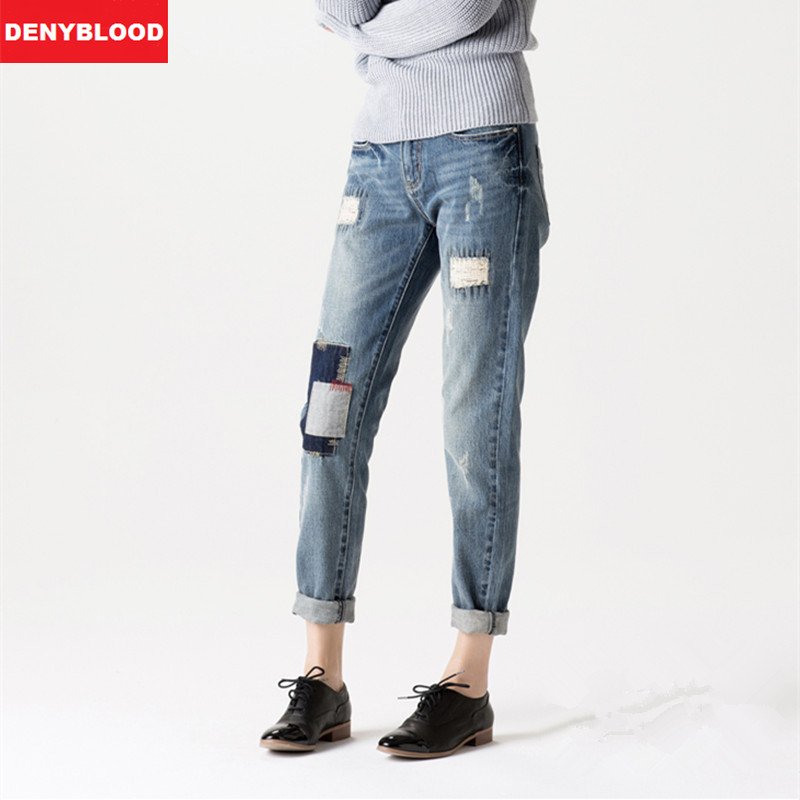 Online Get Cheap Distressed Boyfriend Jeans -Aliexpress.com