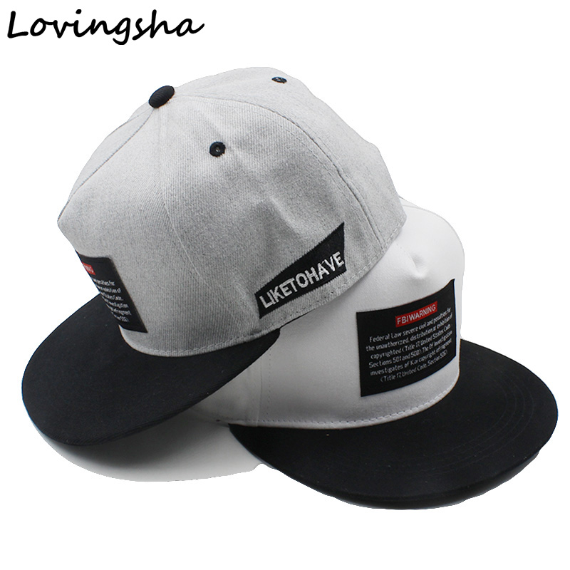 Lovingsha Men Adjustable Baseball Cap For Boy Casquette Gorras Girl Women Hat Adult Unisex Hip-hop Snapback Caps AD060