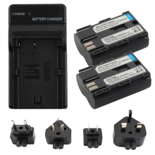 RP 2500mAh BP-511 BP-511A BP 511A for Camera Battery BP511 511 For Canon EOS 40D 300D 5D 20D 30D 50D 10D D60 G6 L10