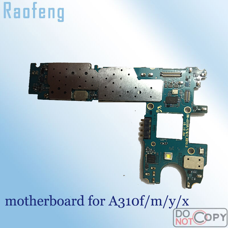 Raofeng motherboard For Samsung Galaxy a3 a310 a310f test Unlocked Mainboard well