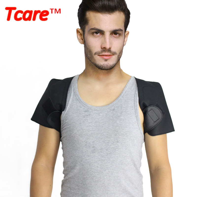 Tcare Health Care Self-heating Tourmaline Shoulder Brace Support Magnetic Therapy Pain Relief Tourmaline Belt Braces