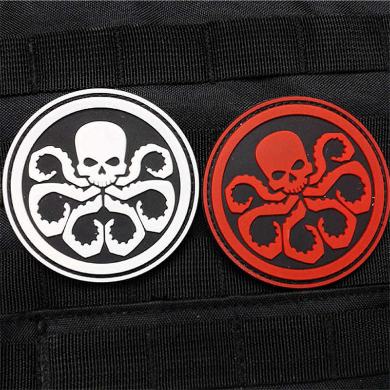 All Hail Hydra Embroidered Sew On Iron Patch Badge Avengers Party Cosplay Comics Movie Fans Collectibles DROP SHIPPING OK