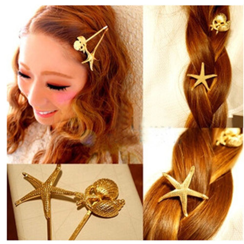 Hair Styling 4 Types Best Gift Hair Cuff Clip Bright Hairpin Womens Hair Clips Accessories For Female Girl Barrettes Dropship