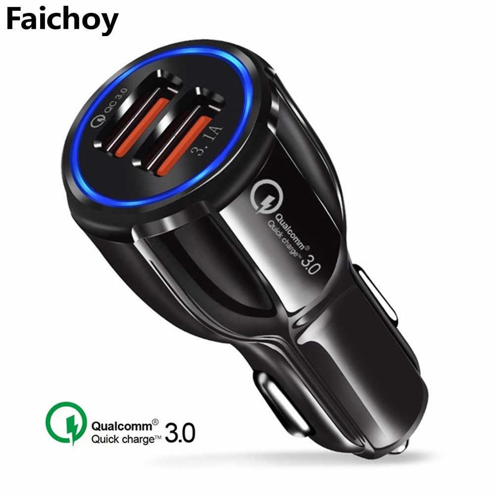 QC 3.0 2 Cổng USB Sạc 5V 3.1A Sạc Nhanh Qualcomm Quick Charge 3.0 Sạc Tiêu Chuẩn dành cho iPhone samsung Huawei Xiaomi
