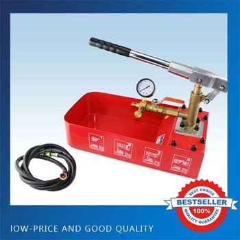 ZD-50 Manual Test Pump 0-50kg Cast Iron Water Pipe Water Pressure Testing Pump