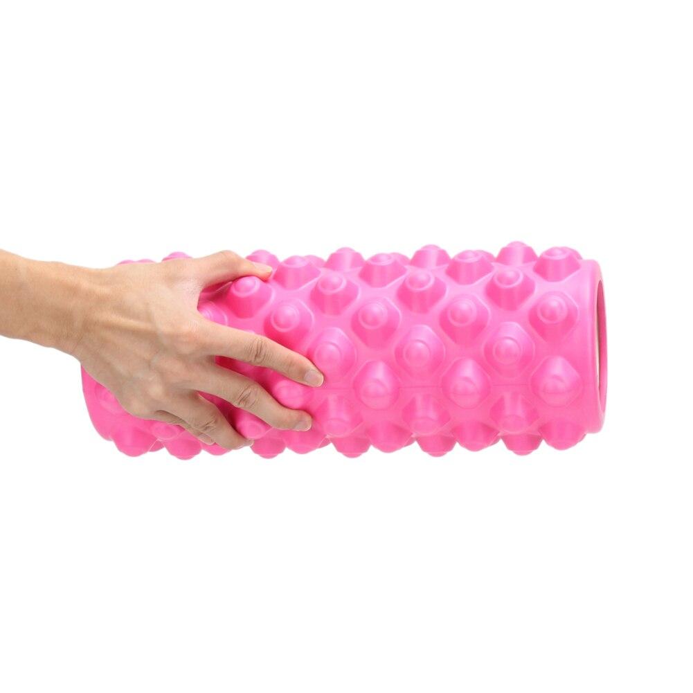 Yoga Block Fitness Equipment Eva Foam Roller Blocks Pilates Fitness Gym Exercises Physio Massage Roller Yoga Block Sport Tool 4