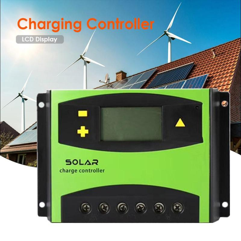 60A LCD Solar Controller 12V24V Battery Solar Charging Controller Regulator60A LCD Solar Controller 12V24V Battery Solar Charging Controller Regulator