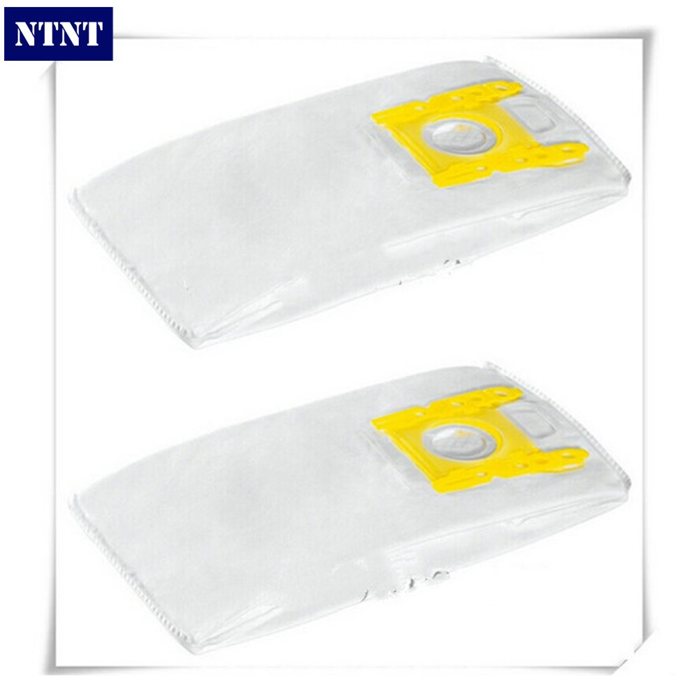 NTNT Free Post new 2 PCS For Karcher Vacuum Cleaner Bags Dust Bag Filter Bag for KARCHER VC 6.150 VC 6100 VC 6200 VC 6300 ntnt free post new 15 pcs dust bag and 1x filter kit for karcher vacuum cleaner a2054 a2064 15 bags