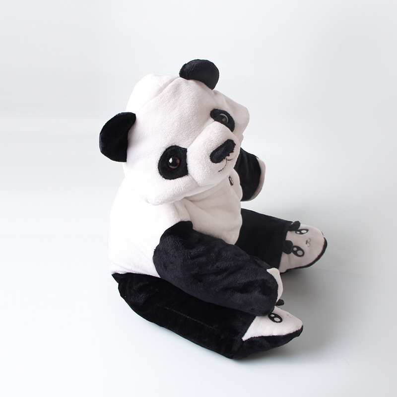 Newborn Baby Panda Halloween Anime Animal Costume Christmas Cosplay Dress For children boys Hooded Footies Onesie Outfit