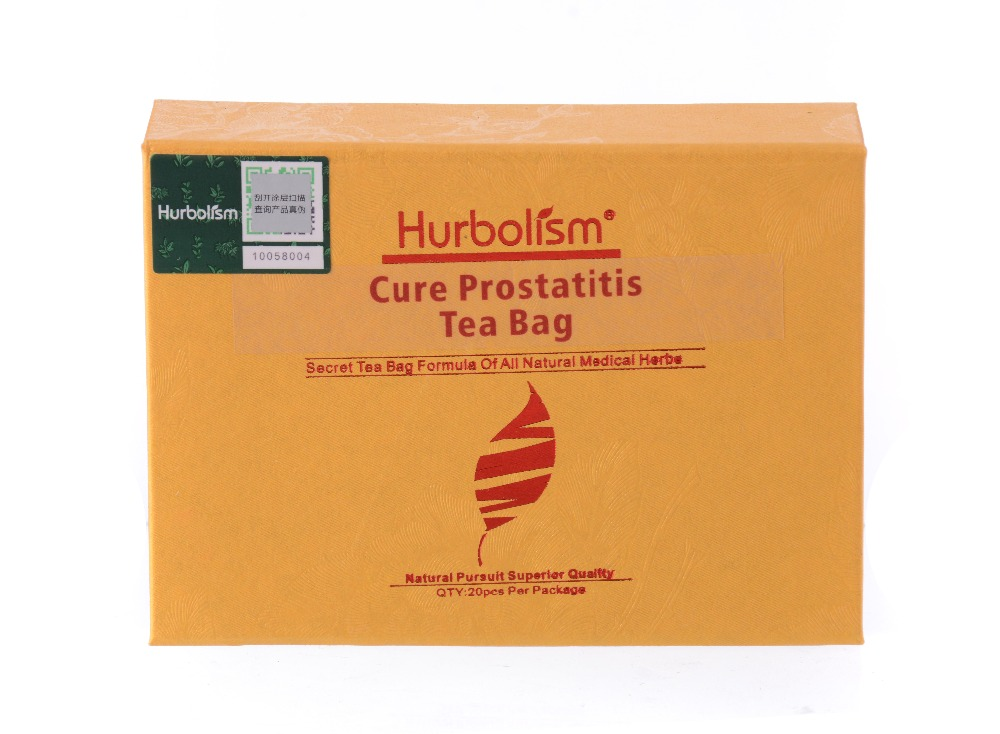 Hurbolism Cure Prostatitis Tea Bag of Natural Herb Ingredients to Cure Curing Prostate Diseases, Solve Men's Problem in 2 months