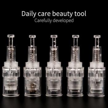 100PCS Electric Derma Pen Needles 9 12 36 42 pin MYM Cartridge For Auto Derma Pen Dr. Pen Needle screw Tip