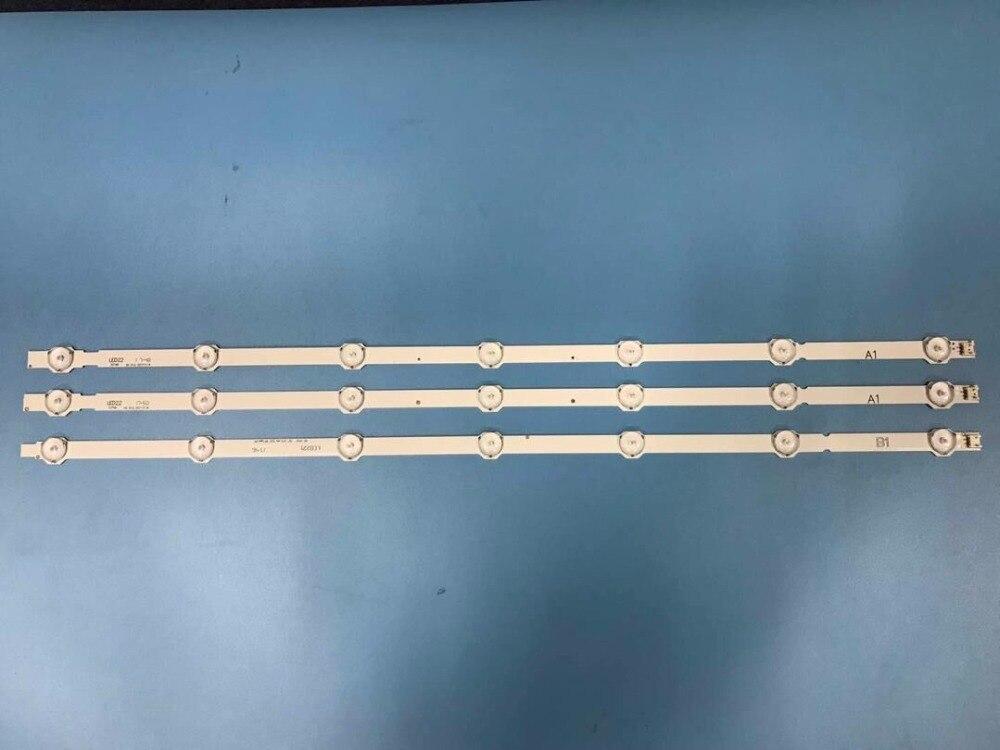 LED Backlight Strip 7 lamp for 32LA620V 32LN575 32LN5400 6916L 1439A 6916L 1440A LG32LN541 LC320DUE SF