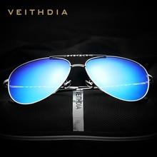 V3610 VEITHDIA Brand Fashion Men's Sunglasses Polarized Color Mirror Lens Eyewear Accessories Driving Sun Glasses