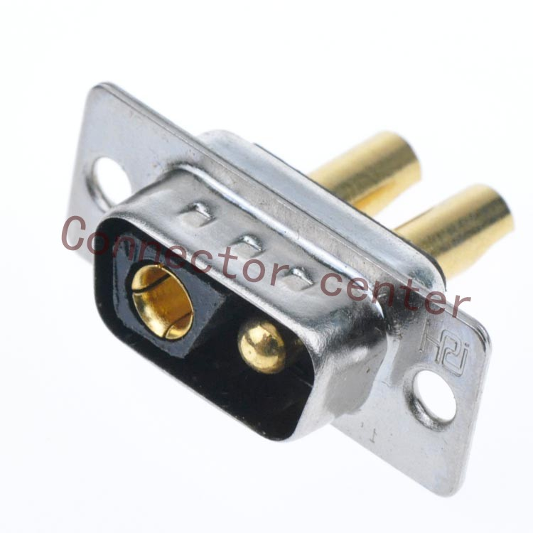 Image 2 - High Power DSUB DB Connector 2V2 male Machined Pin Full Gold Flash Wire Typeconnector bootwire splice connectorconnector terminal -