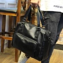 Xiao. p moda sacos de homens mensageiro de alta qualidade soft pu couro sólidos sacos de mão de grande capacidade Sacos de viagem bonito homem(China (Mainland))
