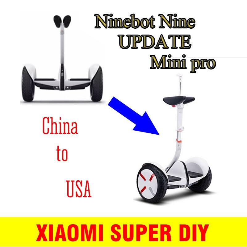 Jambe Contrôle Levier Pied Contrôle Rod pour Xiaomi Minipro Scooter et Moyeu de Roue Roue Cap Couverture pour Xiaomi Minipro Scooter