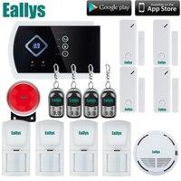 DHL LIBERA el Envío! mejor que chuango g5 Android APP Wireless GSM SMS de Texto Inicio Sistema de Alarma de Seguridad, 4 Bandas, Pantalla táctil