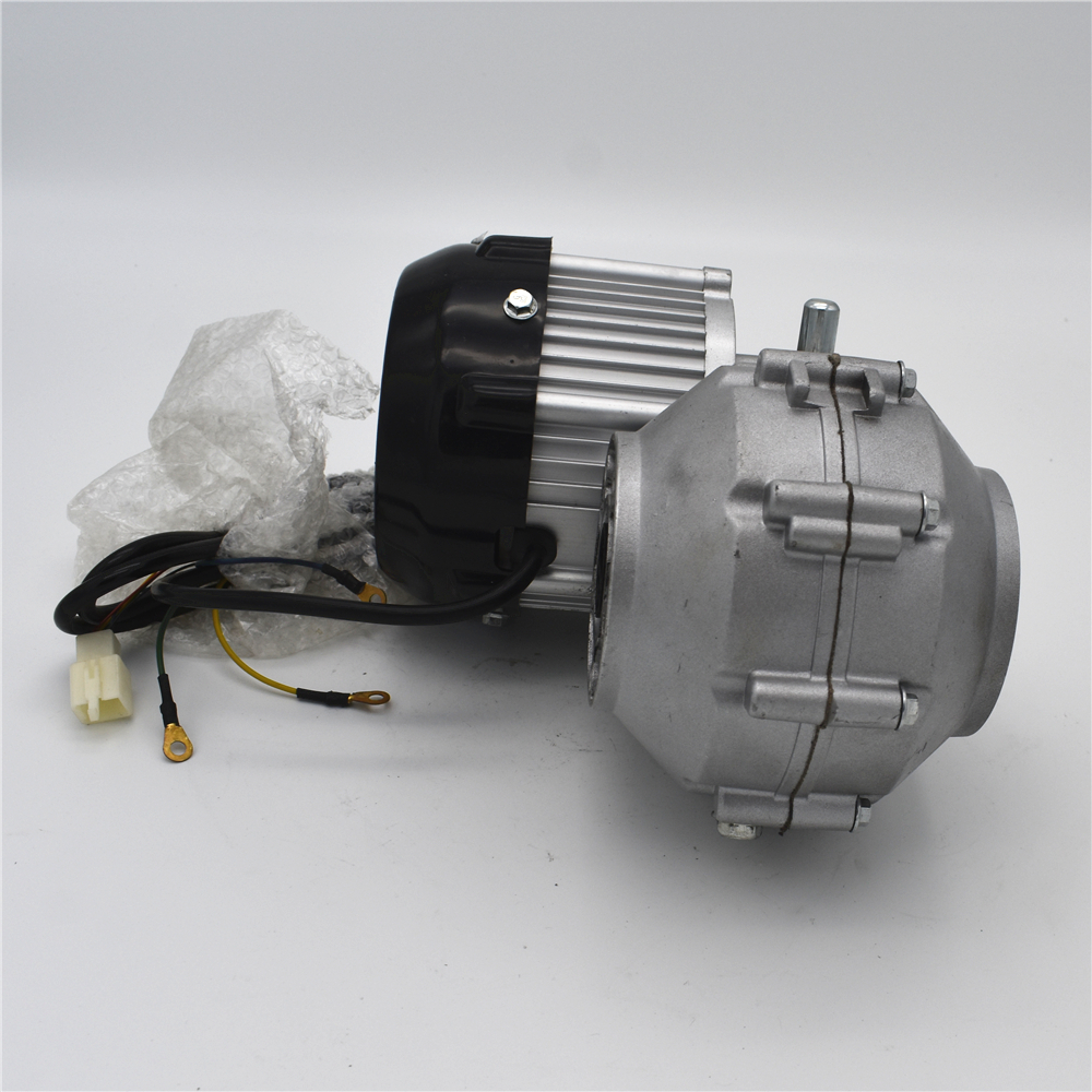 Electric 4 wheeled vehicle rear axle power system BM1418HQF(BLDC) 750W 48V electric cart truck motor k10 48 24 bm
