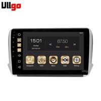 10.1 inch 4G+32G Android 8.0 Car Radio GPS for Peugeot 2008 208 Autoradio GPS Car Head Unit with Radio RDS BT Mirrior Link Wifi