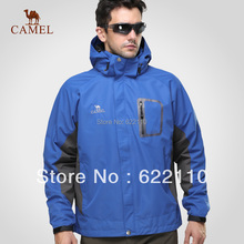 Camel outdoor Men outdoor jacket outdoor jacket waterproof windproof breathable outdoor jacket 2s01006