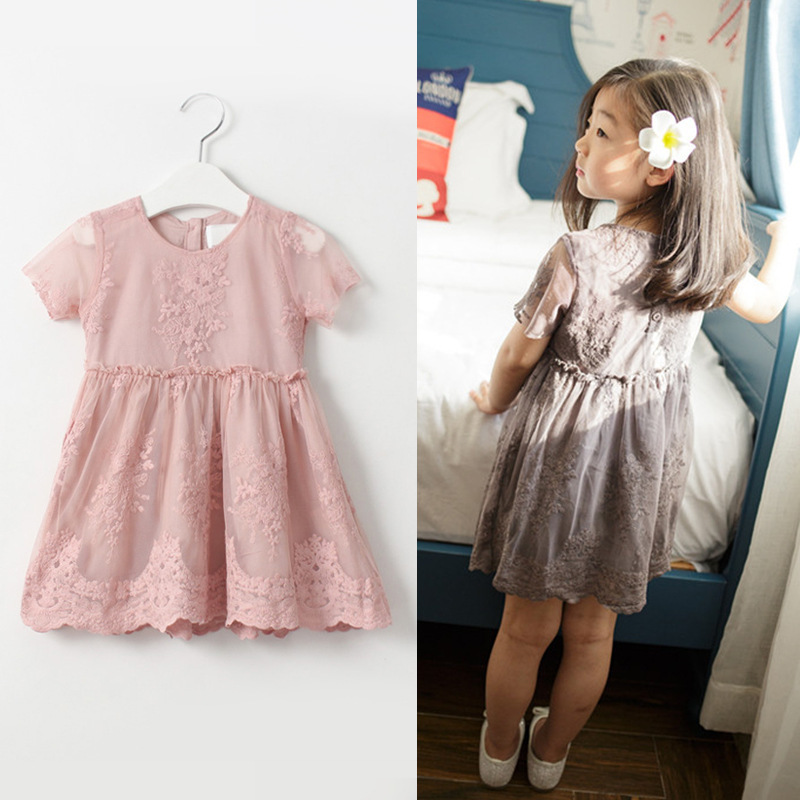 2016 SUMMER NEW children clothes girls beautiful lace dress quality white baby girls dress teenager kids dress for age 2-7years mbak302005 motherboard for acer aspire 5520 5520g mb ak302 005 icw50 l15 la 3581p tested good