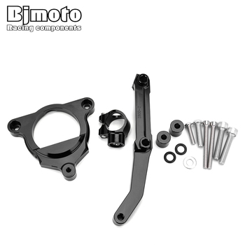 BJMOTO de dirección de la motocicleta amortiguador soporte Kit de montaje para Kawasaki Z800 2013-2015 Z Motor 800