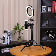 BePotofone фотостудия телефон видео мини рабочего стола светодиодный кольцо света 5500 K 50 см Высота фотографии затемнения макияж кольцо лампы