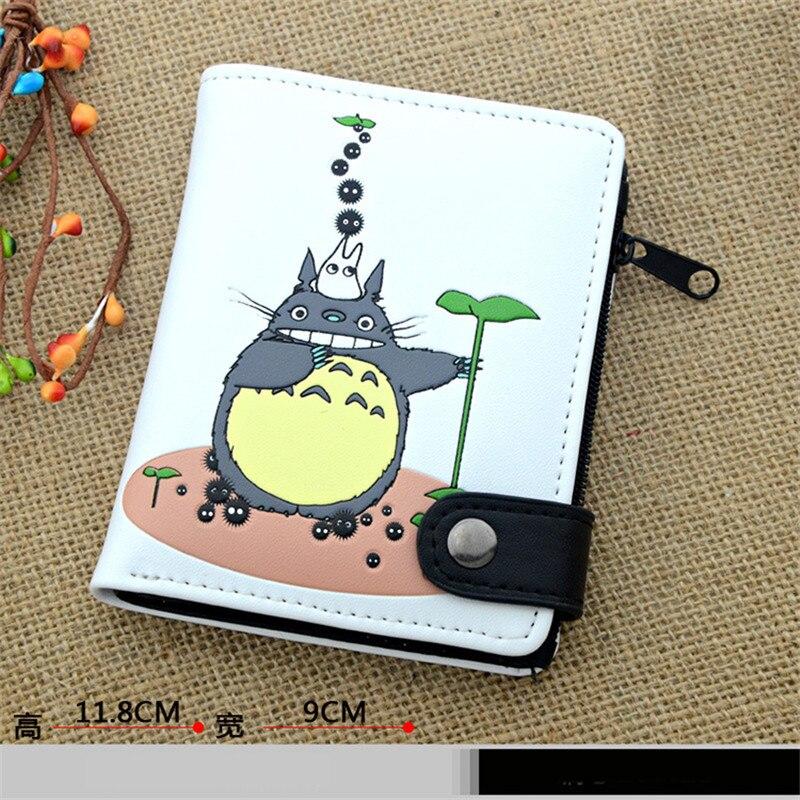 Min grann Totoro Wallet Cartoon Unisex Billfold Men Kvinnor - Plånböcker - Foto 5