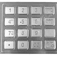 Промышленная самообслуживание металлическая клавиатура с паролем Антикоррозийная 8088 серия OEM/ODM доступна