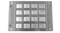 industry self service Metal Password Keyboard Anti corrosion 8088Series OEM/ODM available