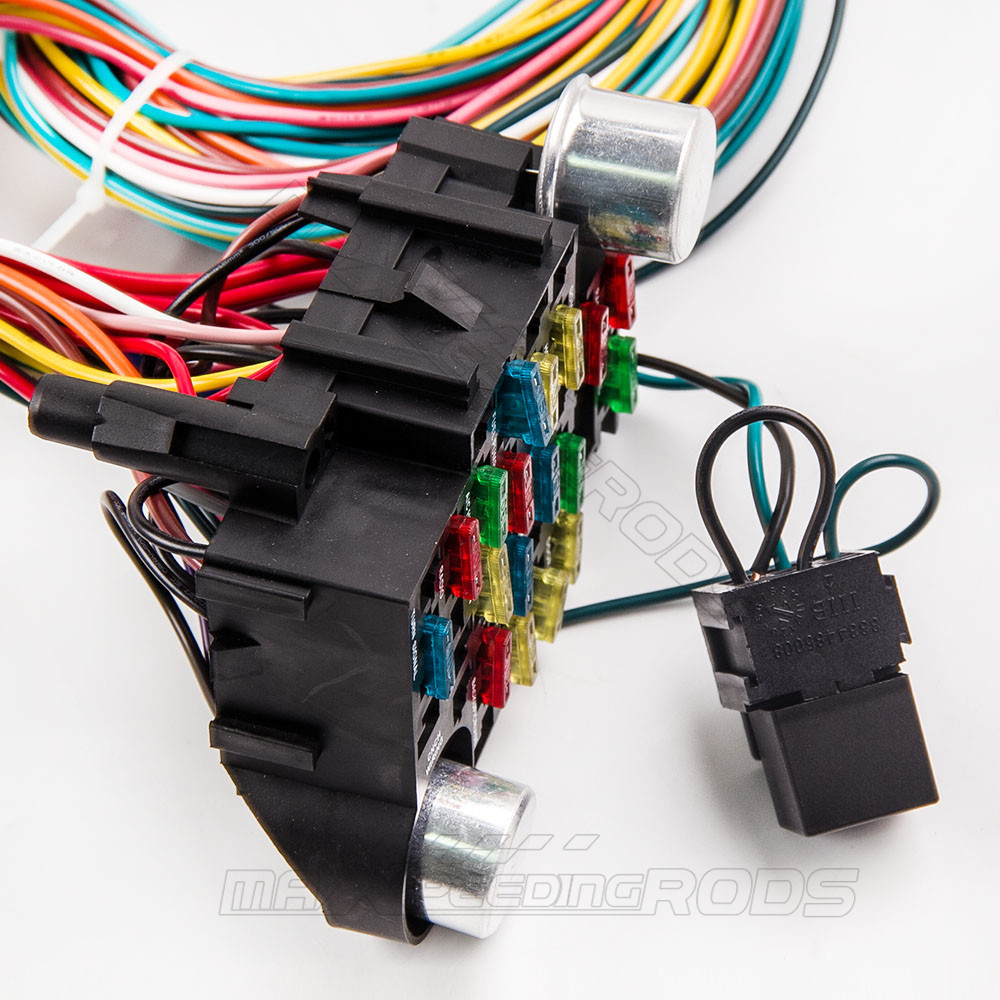 21 Circuit Wiring Harness For Chevy Mopar Ford Hotrod Universal Wire Extra Long Wires In Engine From Automobiles Motorcycles On Alibaba Group