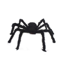 Halloween Decoration Horror 30/50/75cm Large Size Plush Spider Toy For Party Halloween Decoration Horror House Drop Shipping