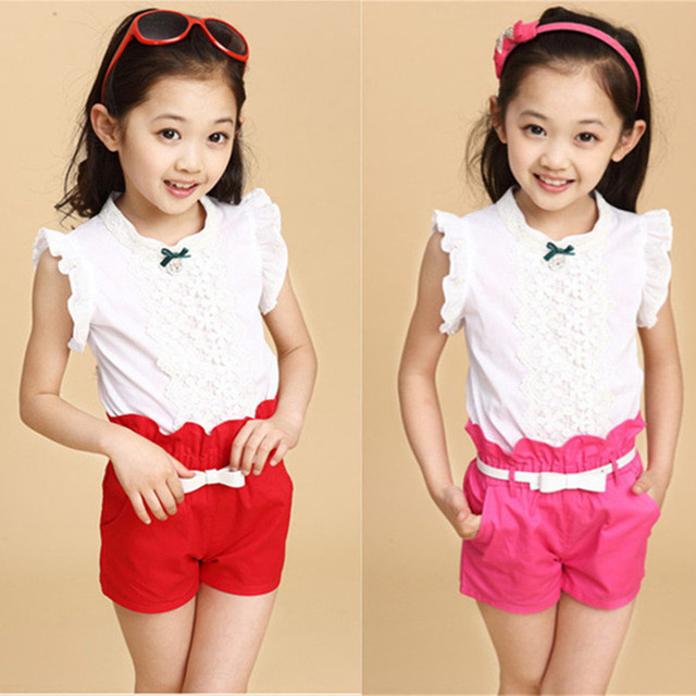 cc6549673 2016 New Hot Sale Girl Clothing Set Top and Pants For Baby Girl ...