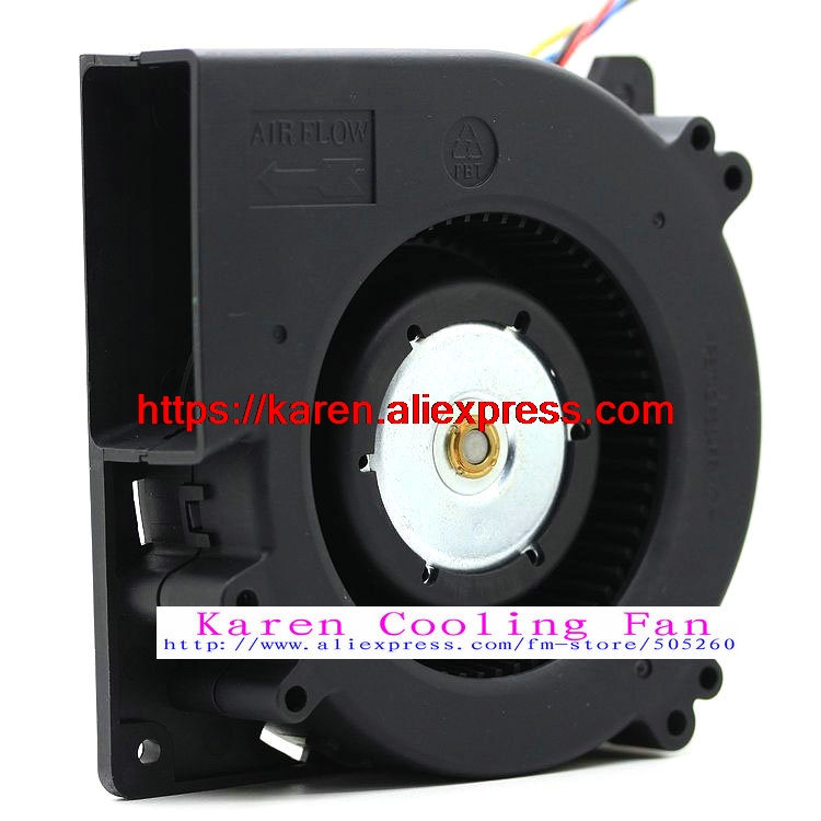 Original DELTA BFB1212EH 12V 2.85A 120*120*32MM 12CM centrifugal double ball bearing blower cooling fan delta ffc1212de original 12cm 12038 120mm dc 2 4a ball bearing fan violence powerful case fan