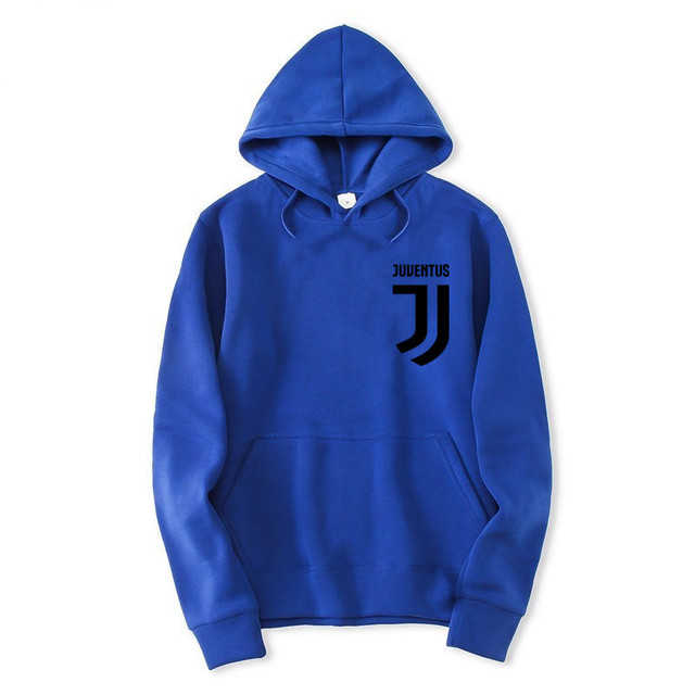 2018 Trendy Juventus Hooded Mens Hoodies and Sweatshirts Oversized for Autumn with Hip Hop Winter Hoodies Men Brand 1