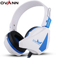 Ovann X16 Gaming Headsets Noise Cancelling Earphones   with Microphone LED Light Voice Control 7.1 Surround Headphones for PC