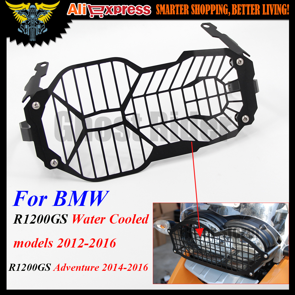 R1200GS Motorcycle Headlight Grill Guard Cover Protector For BMW R 1200 GS R1200GS ADV Adventure R 1200GS 2012-2016
