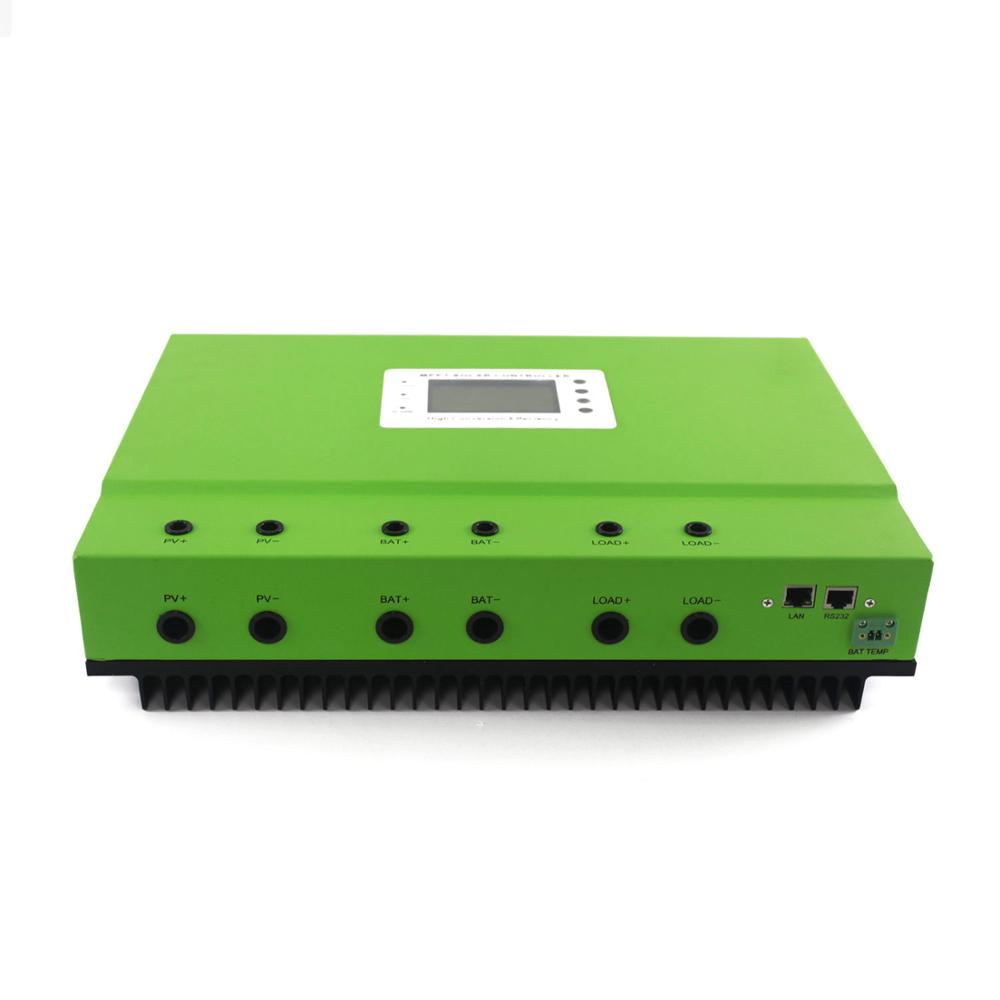 MAYLAR@ 80a 36v PV system 150VDC self-sooling high intelligent Solar MPPT charge controller with RS232 and LAN communication 10a 12v24v solar charge controller intelligent power system