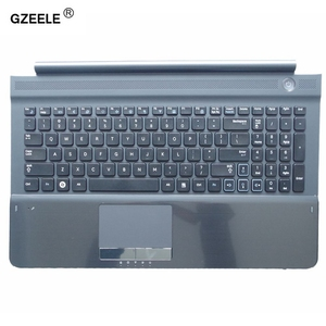Image 1 - New US keyboard with C shell COVER for samsung RC512 RC510 RC520 Topcase Housing Palmrest with touchpad and Speaker Black