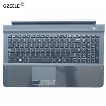 Nuova tastiera DEGLI STATI UNITI con C Alloggiamento DELLA COPERTURA di shell per samsung RC512 RC510 RC520 Topcase Palmrest con il touchpad e Speaker Nero