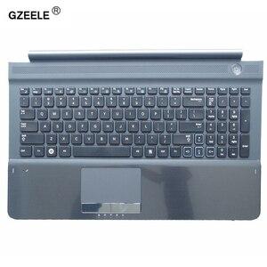 Image 1 - Nuova tastiera DEGLI STATI UNITI con C Alloggiamento DELLA COPERTURA di shell per samsung RC512 RC510 RC520 Topcase Palmrest con il touchpad e Speaker Nero