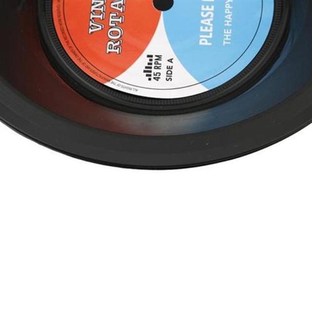 Retro Vinyl Record Style Bowl
