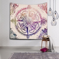WLIARLEO NEW Bohemian Mandala Tapestry Printed 3D Wall Hanging Wall Decorated Beach Towel wall carpet tapiz pared 150x130cm