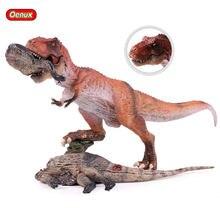 Oenux – figurine classique du jurassique, roi carnaval t-rex, tyrannosaure Rex, corps de dinosaure, jouet éducatif