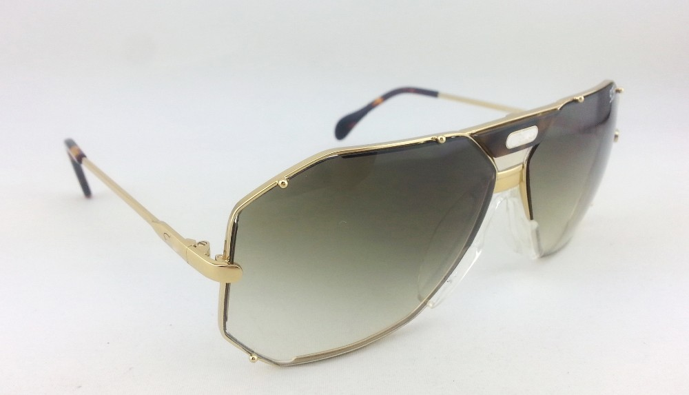 1f57b56735 Best buy Top quality gold frame gradient lens vintage sunglasses Germany top  design women and men rimless vintage retro sunglass CZ905 online cheap