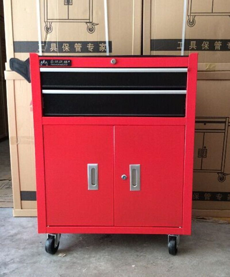 Single Double Door Drawer Tool Cart Trolley Toolbox Cabinet Aftermarket Car  Repair Tools In Tool Cabinets From Tools On Aliexpress.com | Alibaba Group