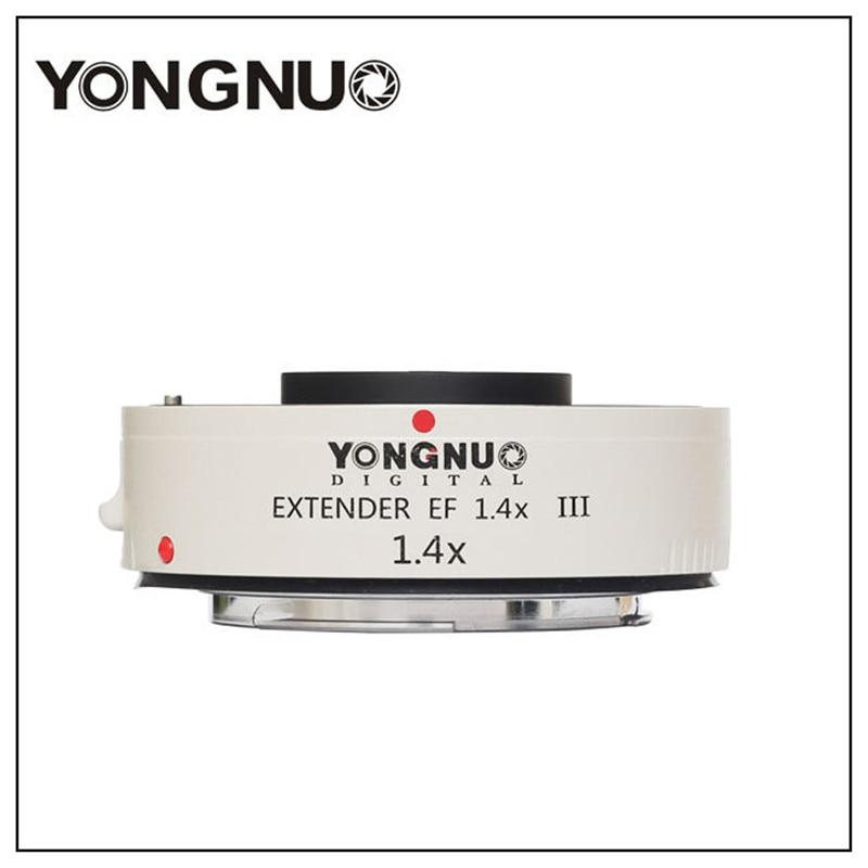 Yongnuo YN1.4XIII prolongateur de YN-1.4XIII EF 1.4X objectif de mise au point automatique téléconvertisseur pour Canon autofocus complet 1D X 1Ds 1D 70D 7D 80D 7DI - 4