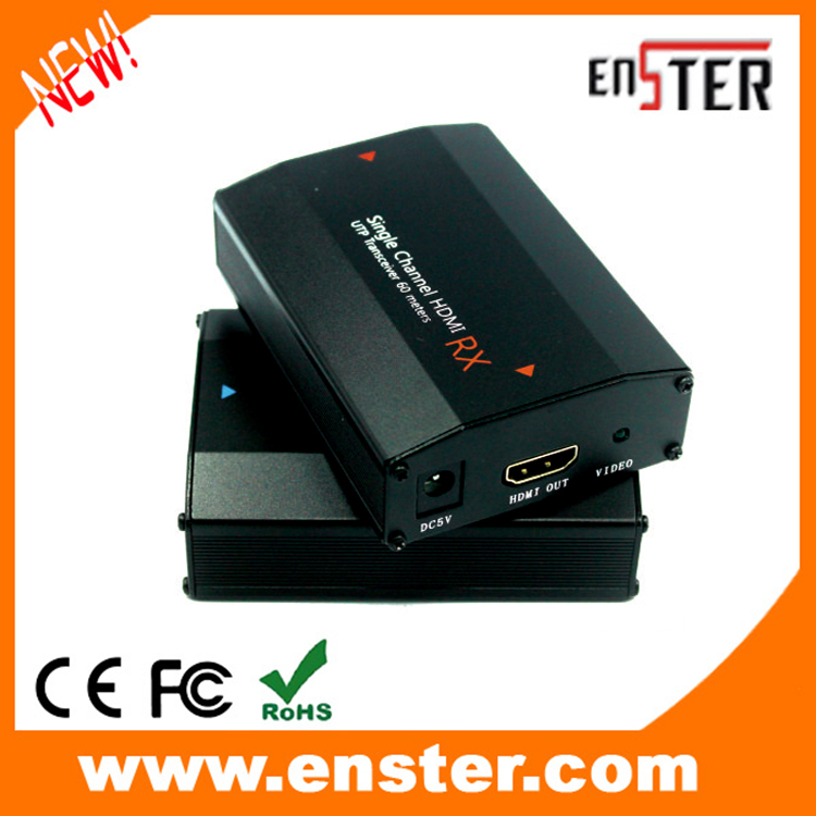 ФОТО  Free shipping HDMI Balun Support HDMI 1.3/HDCP1.1 & 1.2  UTP for CCTV Camera