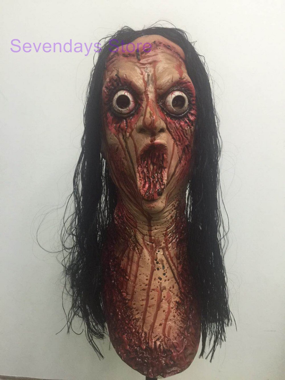 Cute Zombie Horrorable Face Rotting Zombie Christmas